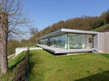 Villa K by Paul de Ruiter Architects in Thüringen, Germany
