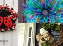 15 Refreshing Handmade Summer Wreath Designs You Need
