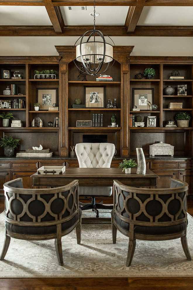 17 Amazing Traditional Home Office Designs Every Home