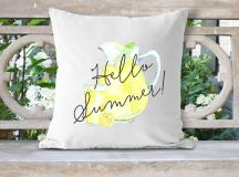 18 Refreshing Handmade Summer Pillow Designs To Jazz Up Your Seasonal Decor