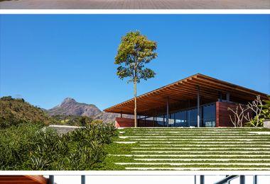 Casa Terra by Bernardes Arquitetura in Itaipava, Brazil