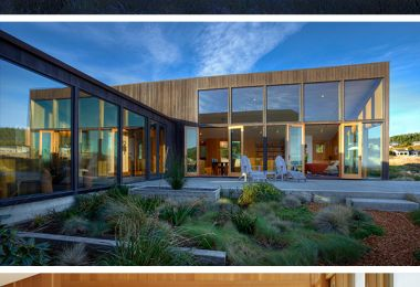 Meadow House by Malcom Davis Architecture in California, USA