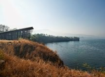 Over Water House by Design Workshop in Pune, India