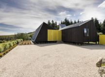 The Family Bach by Cymon Allfrey Architects in Hanmer Springs, New Zealand