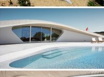 Villa Ypsilon by LASSA Architects in Finikounda, Greece