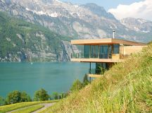 Walensee House by k_m Architektur on Lake Walensee in ...