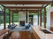 Woodland House by ALTUS Architecture in Minnesota, USA