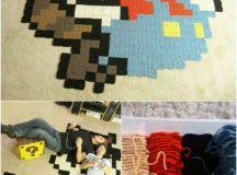 15 Beautiful DIY Rug Ideas That Anyone Can Make