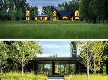 Fishing Cabin by Carney Logan Burke Architects in Jackson, Wyoming
