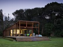 Great Barrier House by Crosson Clarke Carnachan Architects in New Zealand