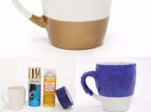 15 Adorable DIY Coffee Mug Designs Everyone Can Make