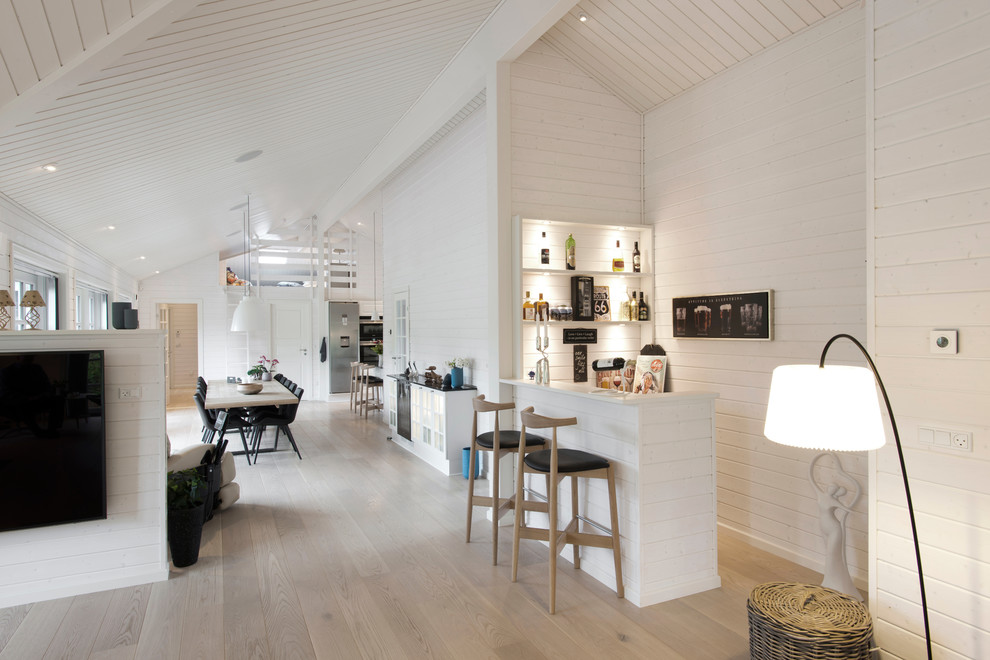 16 Splendid Scandinavian Home Bar Designs That Are Touched