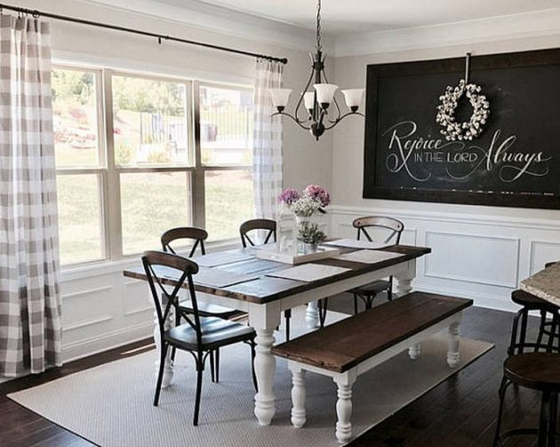 16 Inspirational Ideas To Creatively Decorate Your Dining Room Walls