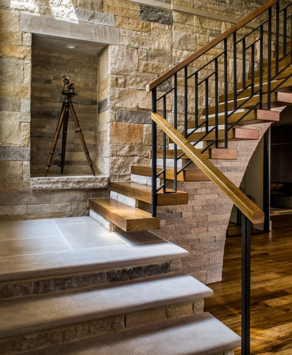 Stunning Farmhouse Staircase Design Blow