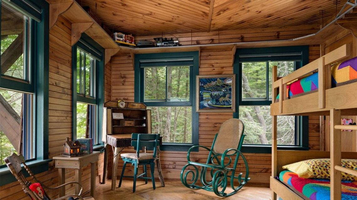 16 Wonderful Rustic Kids Room Designs For Your Mountain Cabin