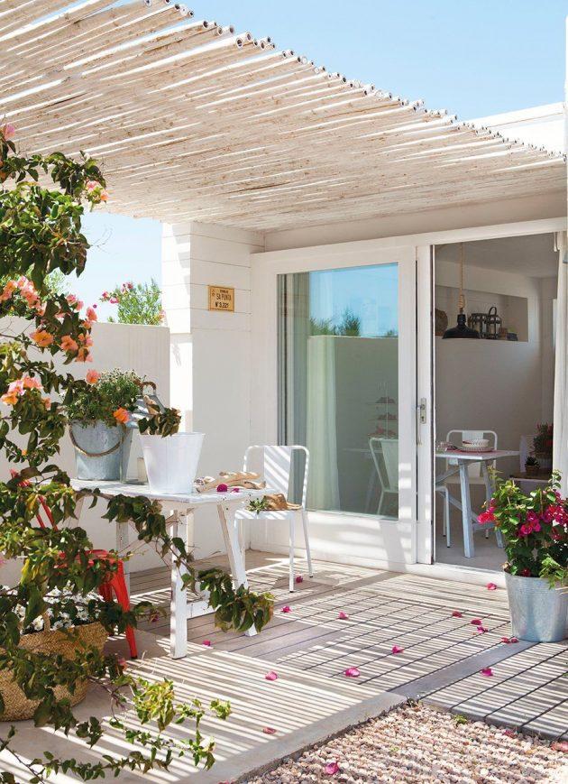 pergolas for terrace garden