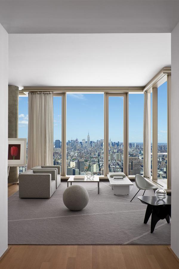 beautiful small apartment living rooms room design for 56 leonard street - unique defining new york ...