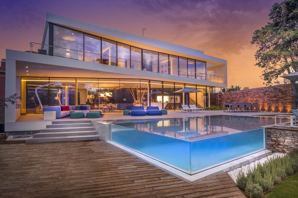 Smart Home Design Cool Blue Villa By 123DV Architecture Beast