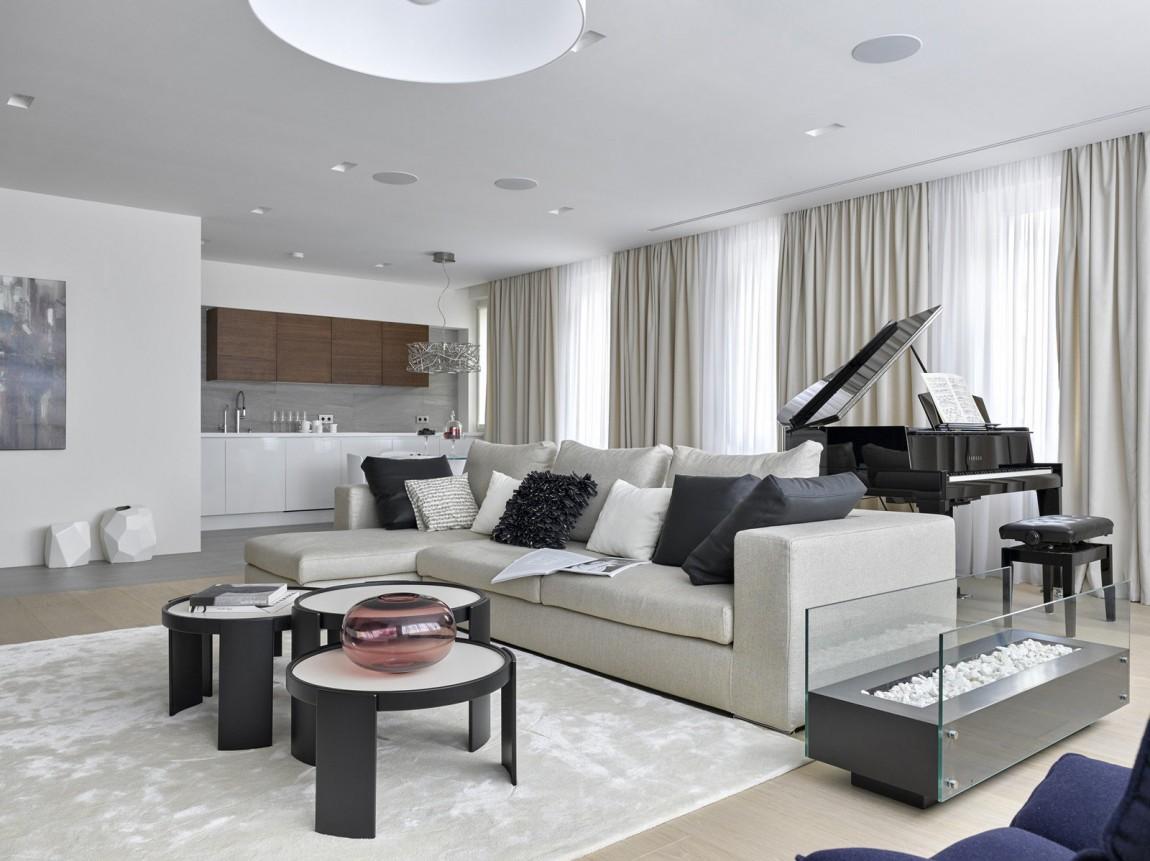 Room ideas Luxury apartment design by Alexandra Fedorova  Architecture Beast