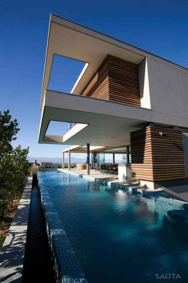 Modern African House with Pool