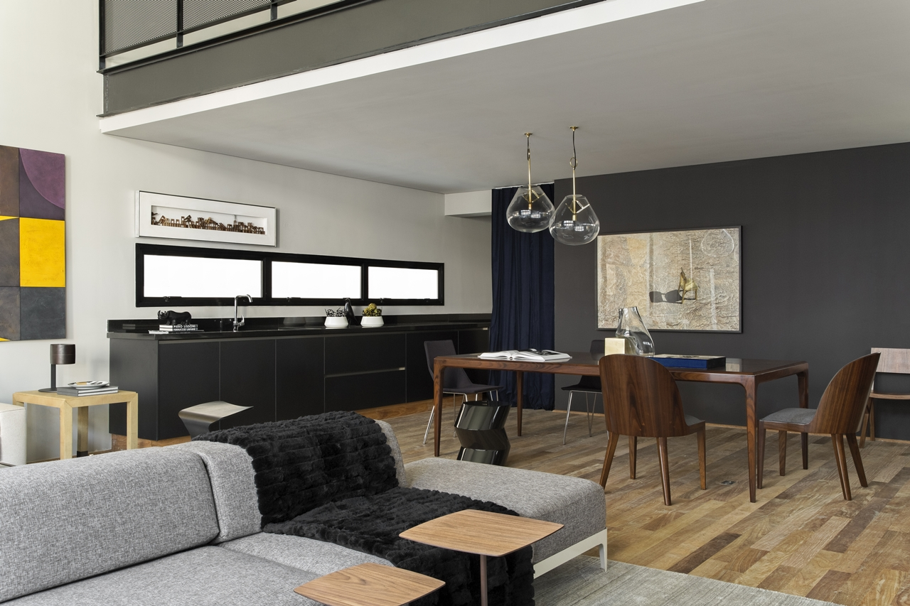 Modern Industrial Interior Design In Beautiful Open Apartment  Architecture Beast