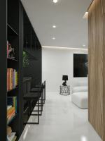 Black And White Interior Design Ideas Modern Apartment by ...