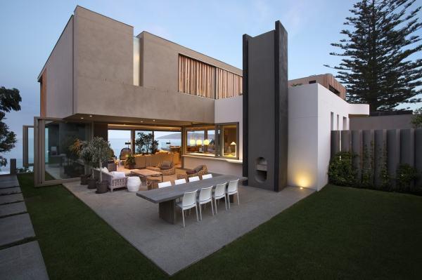 Outdoor Modern Building Facade