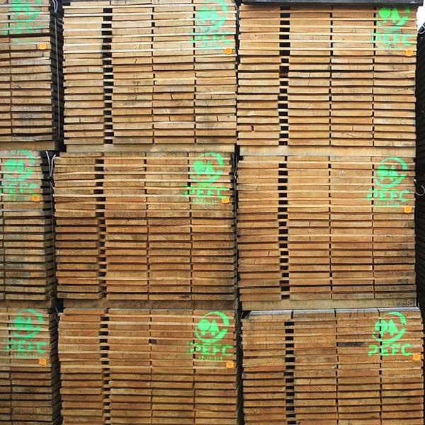 Bois labellisé PEFC © PEFC