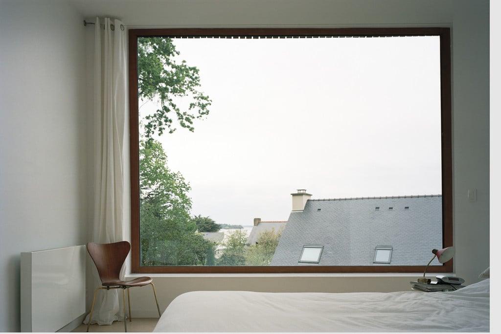 Vue imprenable, baie vitrée