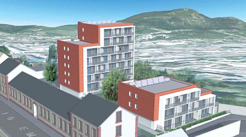 """Modèle 3D de projet """"green building"""""""