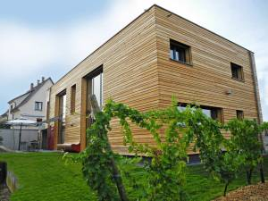 une maison bois écologique