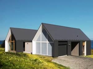 maison bois moderne au Canada