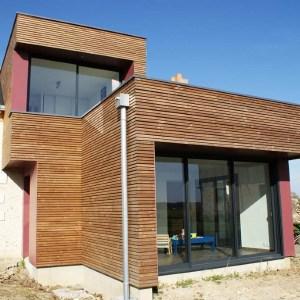 Extension en bois contemporaine - DESarchitecture