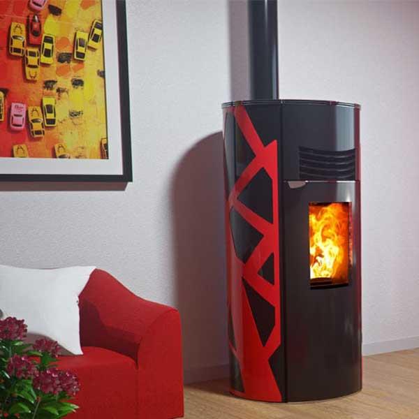 poêle à granulés chauffage bois poêle à granulés chauffage © Hoben