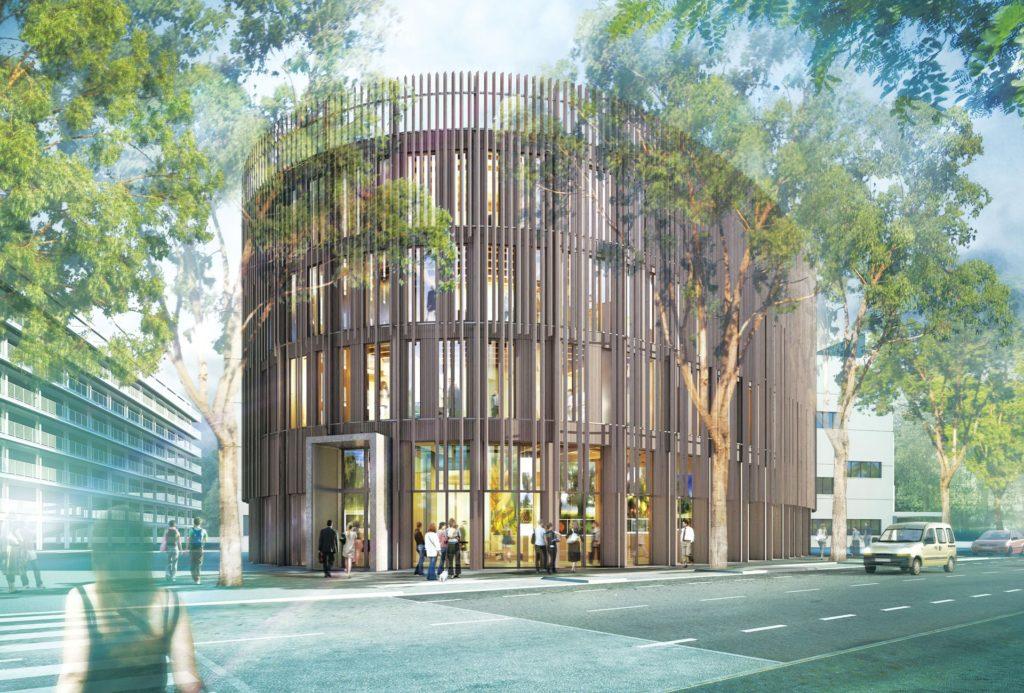 """immeuble de bureau, projet """"le Bâtiment B"""" aux Pays de Loire"""