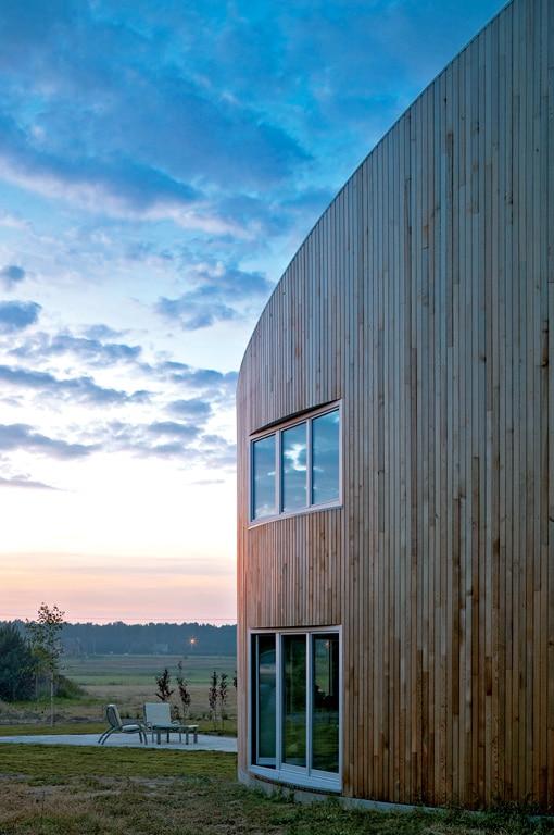 maison en bois orientation bioclimatique