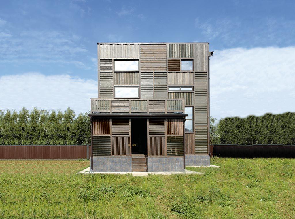 maison bois du design russe