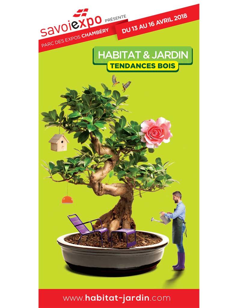 Le salon Habitat  Jardin  Tendances Bois dmarre  Chambry