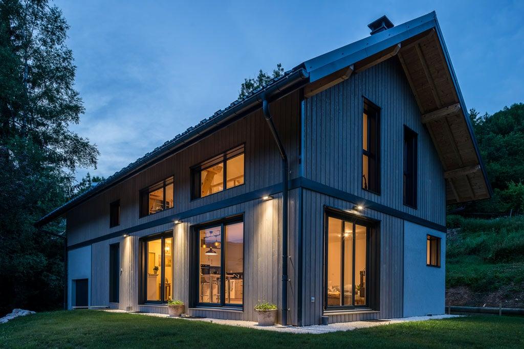 Du caractère en altitude - maison bois SCMC