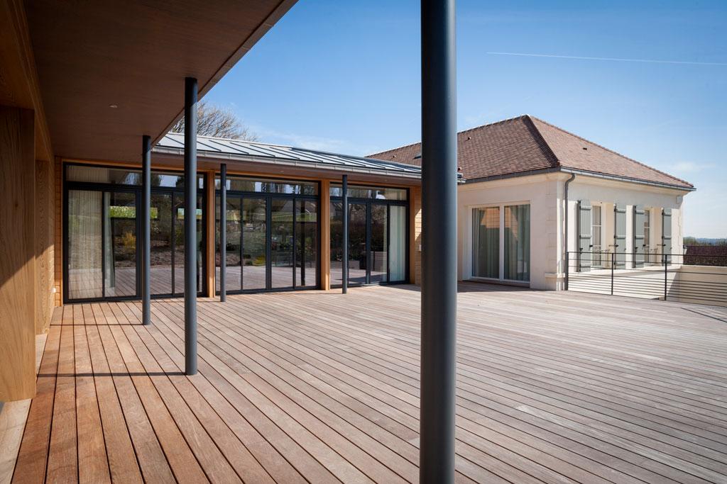 Projet maison bois Val d'Oise Philippe Zerbib