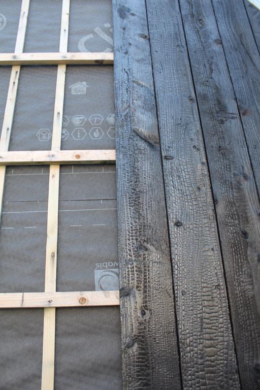 bardage bois gris est un système de bardage de nombreux