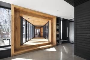 aménagement intérieur d'une maison bois