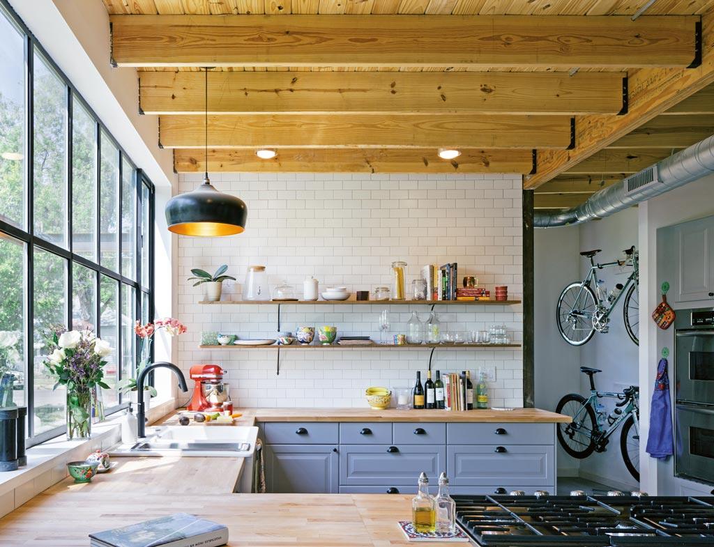 Maison bois Texas Pavonetti Architecture