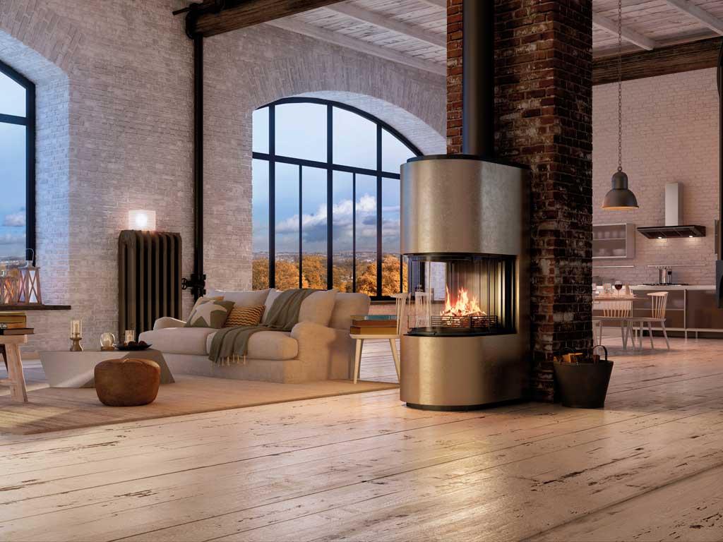 Foyer Rondéo de la gamme Premium © Rüegg