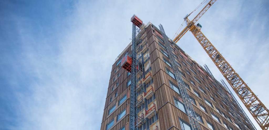 Bâtiment bois plus haut du monde