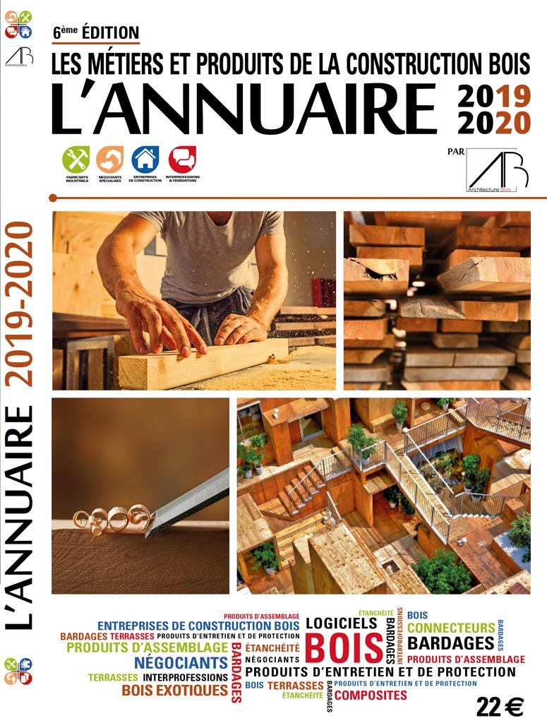 Annuaire 2019-2020 architecture bois couverture