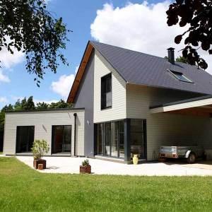 Maison à ossature bois du constructeur Maison Maugy