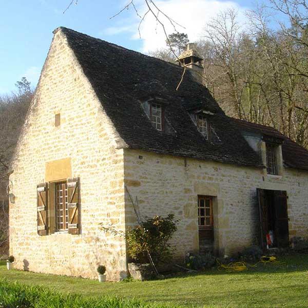 maison au pierre avec extension boisprès de Bordeaux