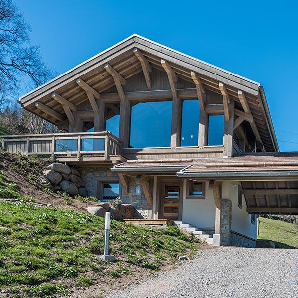 chalet bois sur-mesure dans les Vosges