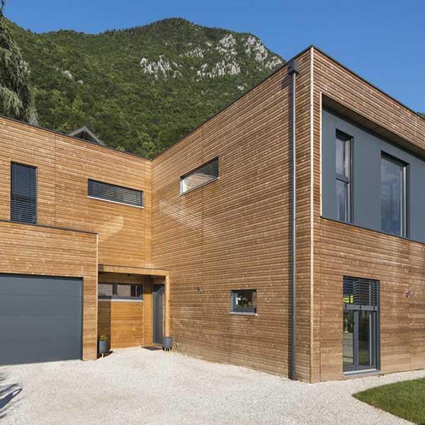 maison ossature bois à Annecy